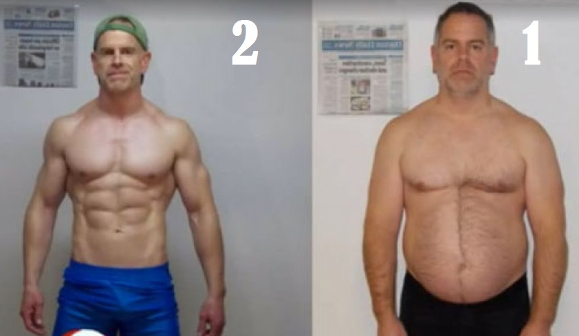 Jeff lost 55 pounds in 5 months with EOD!